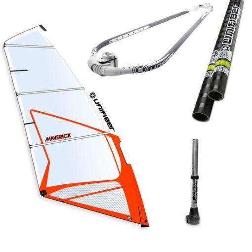 Unifiber Complete Windsurf Rig Package